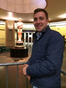 Dolby Theater and Oscar, hoping one day I'll be on the other side!