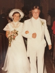 My parents right after they tied the knot!