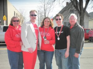 A family that Dyngus's together, stays together